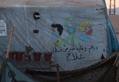 İdlib Kampı'nın 13 yaşındaki ressamı