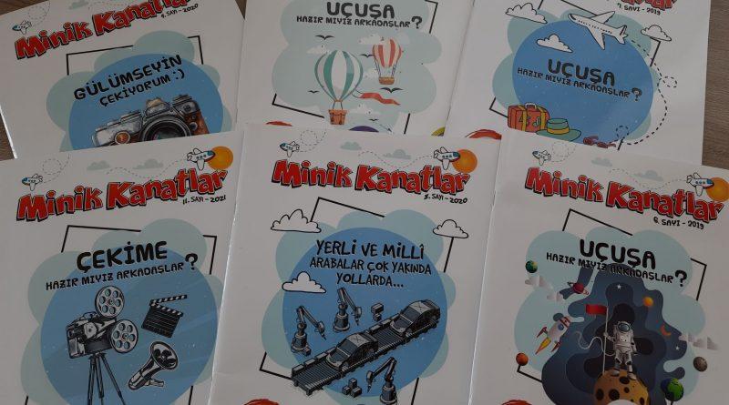 Türkiye'nin tek çocuk havacılık dergisi büyümeye devam ediyor